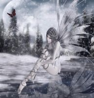 Fairie winter by Flore-stock