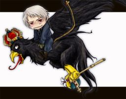 Prussia's pet by Yoroux