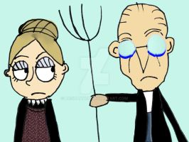 American Gothic people by HCShannon