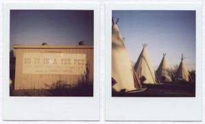 The Tee Pee by YourFathersMustache