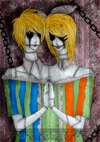 Rin and Len  Two Headed Beast by Maximum-Delusion