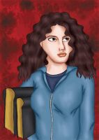 Hermione Granger by comicalclare