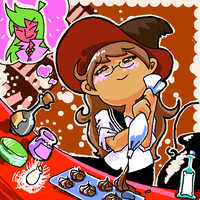 choco girl n Mr.berry by chtkghk