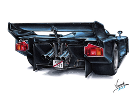 Lamborghini Countach Group C by vsdesign69