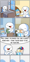 My Child!! by theodd1soutcomic