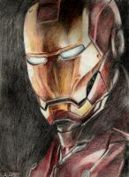 Iron Man Color by ArtRotring