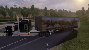 smokey and the bandit mod. ETS2 by daz1200