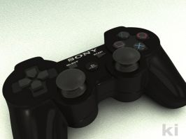 PS3 3D controller by makobsan