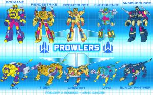 Robo-Synergy - Prowlers by JP-V