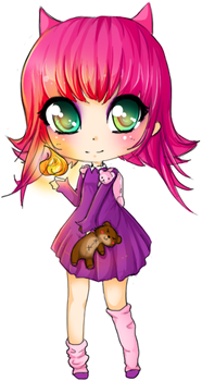 Chibi Annie - LoL by linkitty