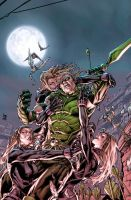 Green Arrow 7 Cover by DustinYee