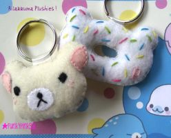 Kawaii Rilakkuma Plushies by funkypinkgal