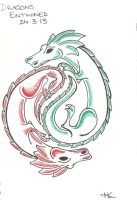 Entwined Dragons by Katlea
