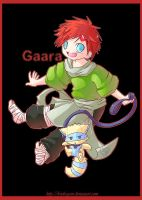 Gaara is SO bad ass by Uberzers