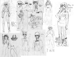 HOMESTUCK SKETCH DUMP by AonoTratai