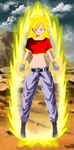 Super Saiyan Pan 2  by nonexistence-eternal