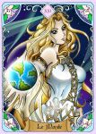 Le Monde (Rising Breeze Tarot Project) by DarkRinoa88