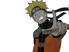 Naruto Uzumaki by DarkGamer2011