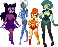 Gem spectre sisters by sparks220stars