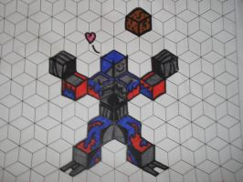 Tessellation Optimus Prime by doublehelix1033