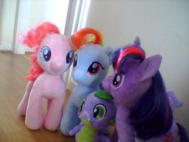 My Little Pony Plushies by TropicalAbyss