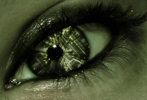 Technical eye by Hellle