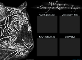 Layout for ~One Of A Kind~ by BlueFire-Phoenix