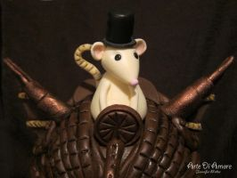 Steampunk Mouse by ArteDiAmore