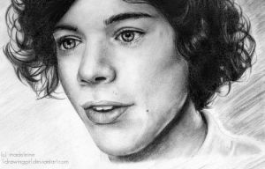 harry styles by 1drawingGirl