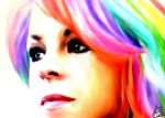 Rainbow Closeup by picasoeffect