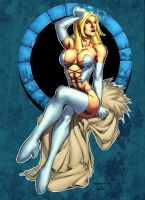 Emma Frost by Ross-A-Campbell