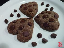 Chocolately Choc. Chip Cookies - Recipe by adnileb