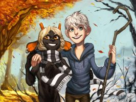 .: Short and Jack Frost by Sapphirelullaby