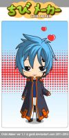 jellal that i made on cibi maker by LyveRockPegasus