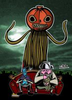 Thugs Over The Garden Wall-Enoch The Pumpkin King! by CreedStonegate
