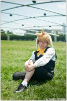 KH: Rabbit Relaxing by CosplayerWithCamera