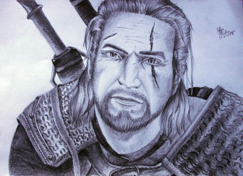 Geralt z Rivii by TheSylwek97