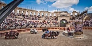 Chariot Racing, Puy du Fou by mole2k