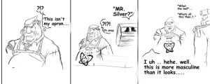 messin with Silver by gato-meow