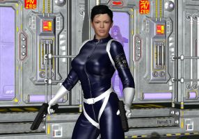 Maria Hill by hotrod5