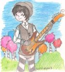 Once-Ler and his guitar by Soul-of-Winter