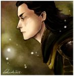 SpeedPainting - Loki by Calicot-ZC