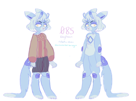 085 ref (secondary fursona) by gemsoil