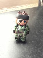 Chibi naked snake by hellduck