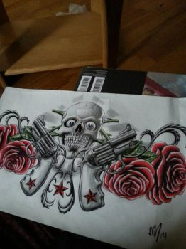Guns and or roses  by scribilitary