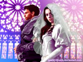 I swear and I do - Chris Redfield x Jill Valentine by mayarokuaya