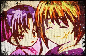 lovely couple: Kenshin and Kaoru (upgraded) by MBMHimura