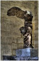 Winged Victory of Samothrace by yungstar