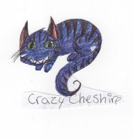 Random Cheshire Cat by SoulEaterGurl