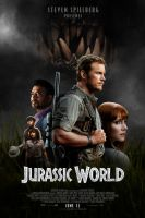 Jurassic World - fan-art poster by dodysaurus